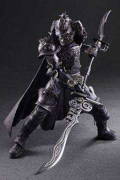 Square Enix Play Arts Kai Final Fantasy XII Gabranth 11-inch tall action figure preview