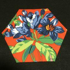 "3"" HEX300 #epp #hexies #hexagons #glorioushexagons #quilting #englishpaperpiecing #handquilting"