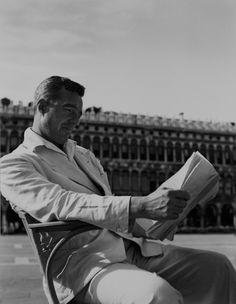 Vittorio De Sica in Venice.