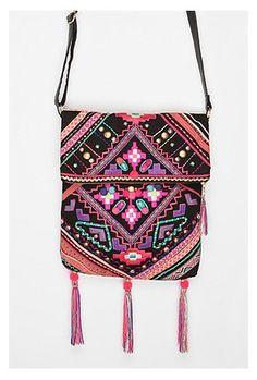 UrbanOutfitters.com > Ecote Folk Foldover Crossbody Bag