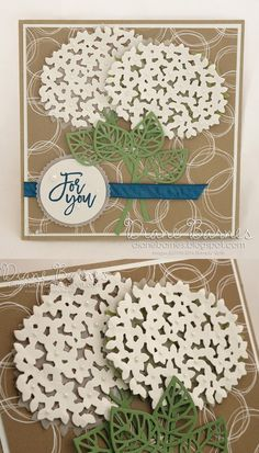 For you card using Stampin Up Thoughtful Branches bundle. By Di Barnes… Sister Cards, Mothers Day Cards, Wedding Shower Cards, Do It Yourself Crafts, Sympathy Cards, Flower Cards, Cool Cards, Homemade Cards, Stampin Up Cards