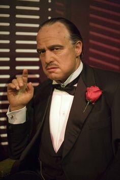 Marlon Brando est Don Vito Corleone - Le Parrain (The Godfather) Marlon Brando, Don Corleone, Corleone Family, I Love Cinema, The Godfather, Godfather Actors, Godfather Quotes, Portraits, Best Actor