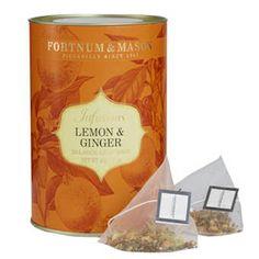 Fortnum & Mason Lemon & Ginger Infusion