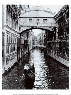 Venice Canal Art Print at AllPosters.com