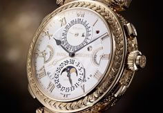 2 milhões de euros e o relógio aniversário da Patek Philippe... | Chronos do Tempo