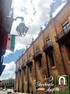 Típica postal en #Morelia, ya huele a septiembre!