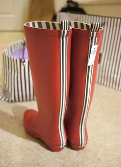 been wanting these wellies forever! @Henri Bendel