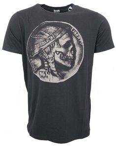 EDWIN Mens T Shirt Men's Hobo Coin Black T-Shirt. 100% Authentic by EDWIN