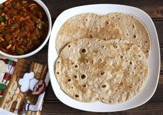 Oats Chapati is a very nutritious, easy to make vegan flat bread recipe prepared using oats and wheat flour in less than 30 minutes.