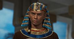 "As Ramses II, Yul Brynner in Cecil B. de Mille's movie ""The Ten Commandments"" by Beast 1, via Flickr"