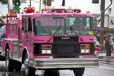 Fire truck pink!