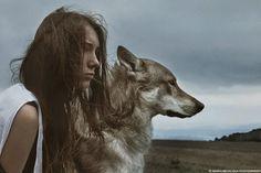 Wolf. Women.