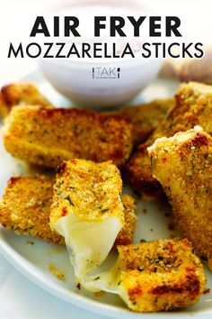 Cheese Curds, Cheese Fries, Fried Cheese, Easy Appetizer Recipes, Appetizers For Party, Easy Recipes, Side Dishes Easy, Side Dish Recipes, Air Fried Food