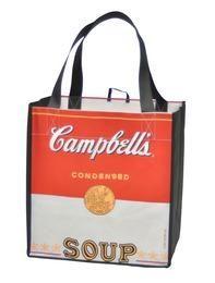 Soup Can Reusable Shopping Tote #CS852B - CampbellShop
