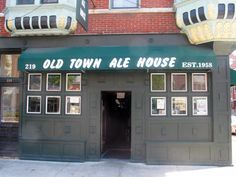Old Town Ale House.  A dive bar in a not so divey part of town.  This is where a lot of the Second City crew hung/hangs out.