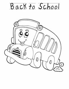 Back to School Free Coloring Page Set School Activities and