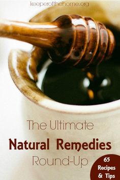 Natural remedies can be used to safely treat just about any ailment. Yes, there's a time and place for antibiotics and other conventional medicines – but our family's rule of thumb is to try the natural route first! Most of the time, whatever ailment we are suffering from clears with the natural remedy!