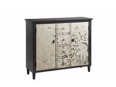 Shop for Stein World 4 Drawer, 2 Door Cabinet with Freeform Scroll Pattern, 13156, and other Living Room Cabinets at Cherry House Furniture in La Grange, KY. 4 Drawer, 2 Door Cabinet with Freeform Scroll Pattern.