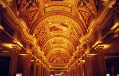 evin met up with us! hotelceling. Hotel had gold ceilings.    theskateboardmag.com