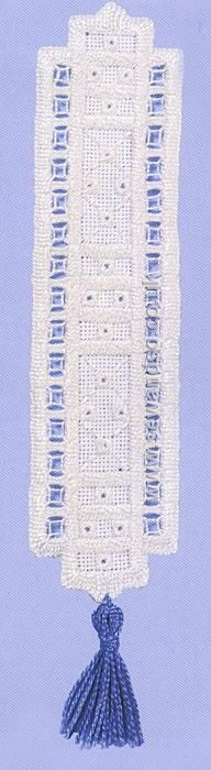 Buy Hardanger Bookmark 3 Embroidery Kit Online at www.sewandso.co.uk