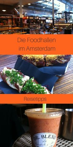 Foodie travel guide for Amsterdam - the best places to eat - Amsterdam Foodhallen – my travel tips for the Dutch capital – Foodie tips for eating out in Ams - Europe Destinations, Europe Travel Tips, Holiday Destinations, Travel Guide, Travel Advice, Italy Travel, Restaurant Amsterdam, Amsterdam Food, Amsterdam City