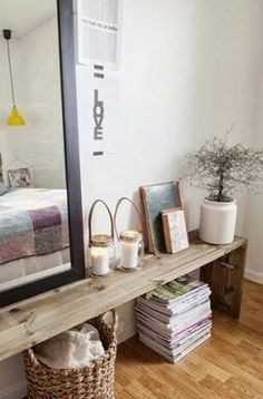 Ideas Looking for a storage bench for my entry home deco Room Inspiration, Interior Inspiration, Home Bedroom, Bedroom Decor, Home And Deco, Style At Home, My New Room, Home Fashion, Home And Living