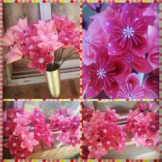 Flores de origami (souvenirs)