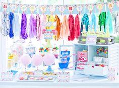 Coney Island Vintage Carnival Circus Clown Boy Girl Birthday Party Planning