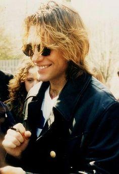Jon Bon Jovi happily signing autographs in the Dorothea Hurley, Bon Jovi Always, Shaggy Long Hair, Jon Bon Jovi, Rock Music, Music Music, Concert Posters, Most Beautiful Man, Man Alive