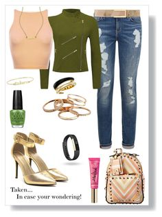 """""""Taken...in case your wondering."""" by momma2theking on Polyvore featuring Tommy Hilfiger, Michael Kors, Sydney Evan, Valentino, Too Faced Cosmetics, Jessica Elliot, Kendra Scott, OPI, Fitbit and White House Black Market"""