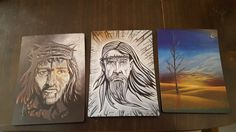 A magnet of one of my paintings by JDLeeArts on Etsy