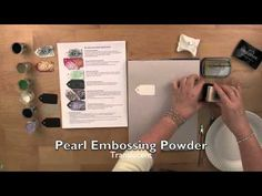 Michael's Recollections Embossing Powders