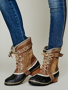 perfect winter boots.