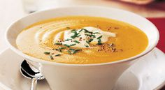 Pumpkin Bisque.   I like pumpkin and I like bisque, so this should be very wonderful