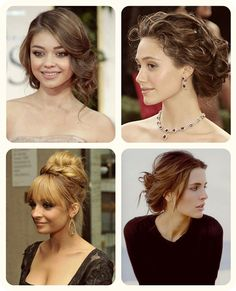 The 9 Most Flattering 5 Minutes Easy Messy Up-do For Daily Creation celebrity messy up do and bun with clip in hair extensions Night Hairstyles, Prom Hairstyles For Short Hair, Homecoming Hairstyles, Celebrity Hairstyles, Bun Hairstyles, Wedding Hairstyles, Hair Pinned Back, I Heart Hair, Messy Updo