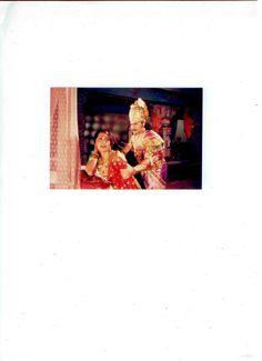 "A scene from ""Shri Krishna"""