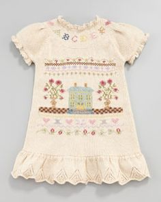 Ralph Lauren Childrenswear Sampler Dress