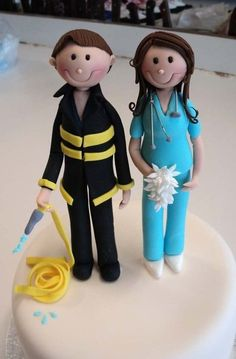 Cake toppers  Cake by Verusca Walker