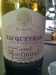 2010 Domaine du Grand Montmirail, Vacqueyras AC, Rhône Valley, France, Wine of the Week 09-19-13 www.eatsomethingsexy.com