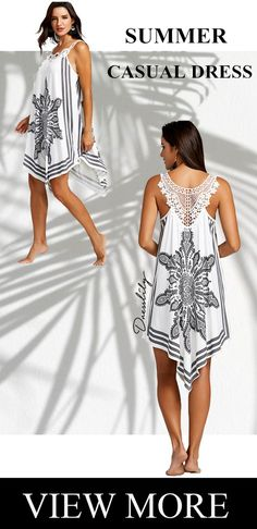 Free shipping worldwide. Up to 70% off.Lace Panel Tribal Print Flowy Dress. Style: Casual  Material: Polyester,Spandex  Silhouette: A-Line  Dresses Length: Mid-Calf  Neckline: Scoop Neck  Sleeve Length: Sleeveless  Embellishment: Lace  Pattern Type: Print  With Belt: No  Season: Summer  Weight: 0.3000kg  Package Contents: 1 x Dress #printdress#dress#summerdress#summer#lacedress#dresslily