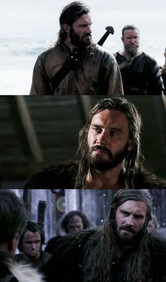 Clive Standen as Rollo Lothbrok - Vikings - I love the character on the show, even if I don't always like him! :)