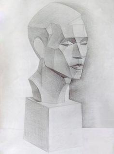 Vẽ tượng thạch cao vạt mảng