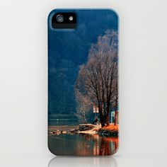 Gone fishing | waterscape photography iPhone  iPod Case by Patrick Jobst - $35.00. Custom design protective smartphone case available for iPhone (3g, 3gs, 4, 4s, 5, 5s, 5c), iPod Touch and Samsung Galaxy (S4, S5). #iphone3 #iphone4 #iphone5 #samsunggalaxy