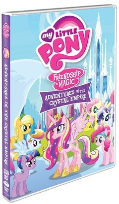 b6588f10ca8 A new My Little Pony DVD! Meet the Characters of  My Little Pony Friendship