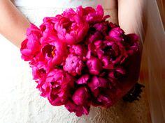 Bouquet de Peonias Fucsia -- Fotogtafía: La Vie