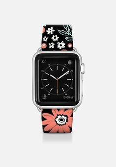 Chalky Flowers Apple Watch Band (38mm) by Kristin Nohe Juchs | Casetify