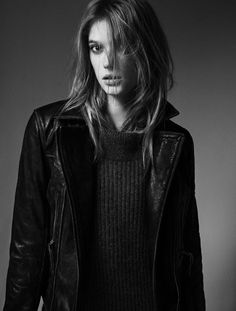 Leather and wool. [Sigrid Agren]