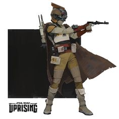 Star Wars: Uprising bounty hunter