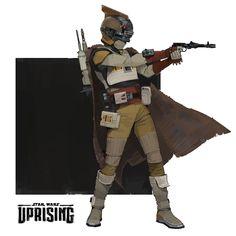 Star Wars: Uprising bounty hunter