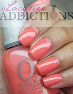 """Orly- """"Butterflies"""". Lacquer Addictions nail blog."""